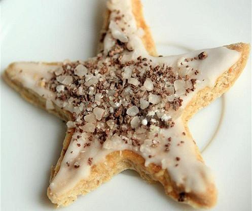 Миндальное печенье с корицей