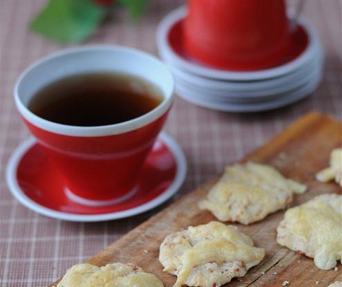 Сырное печенье к чаю