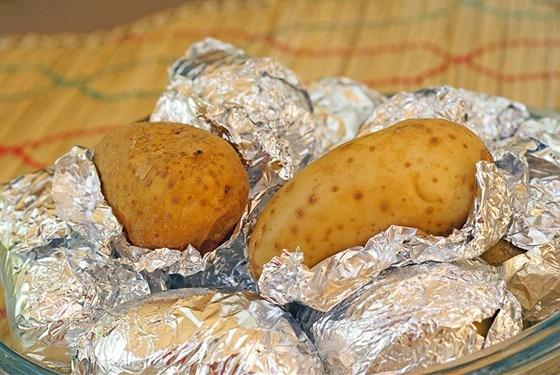 Американский печеный картофель