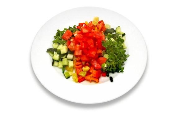Алжирский салат