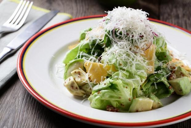 салат с семенами горчицы