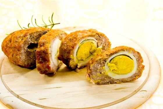Яйца по-шотландски со специями