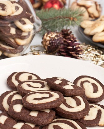 Лимонно-шоколадное печенье