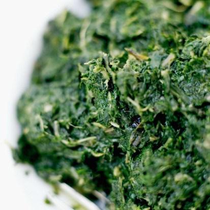 Салат, приготовленный в блендере