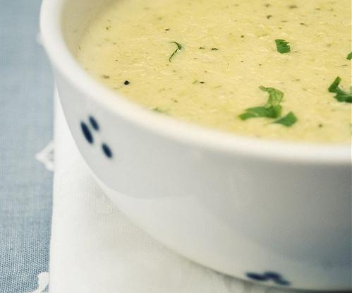 Суп с кукурузой и перцем