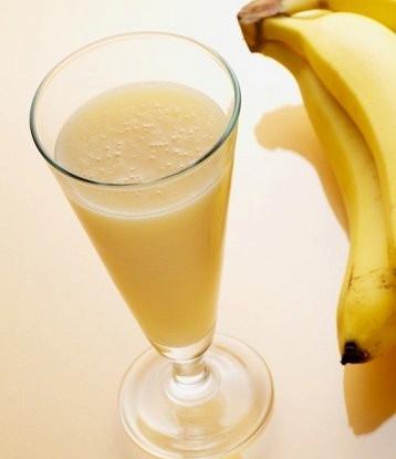 Напиток из банана и тахини