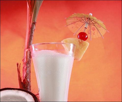 Напиток с кокосом
