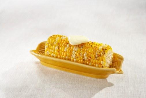 Кукуруза с маслом из лайма и чили