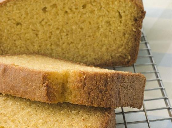 Сладкий кукурузный хлеб с пахтой