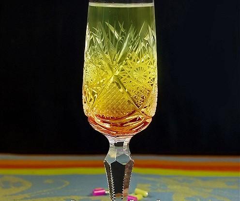 Коктейль из шампанского и джина