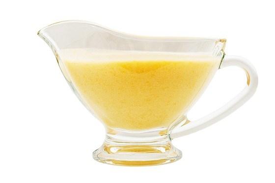 Легкий соус с нотками лимона