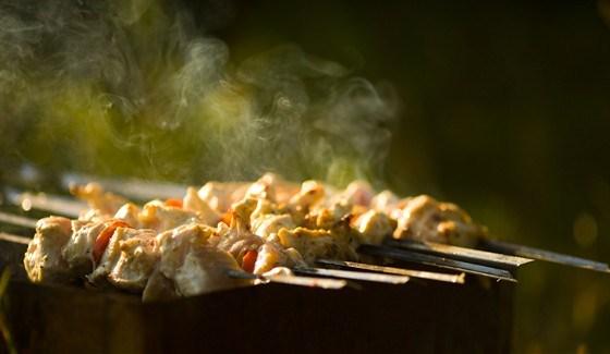 Ароматные куриные шашлыки по-мароккански