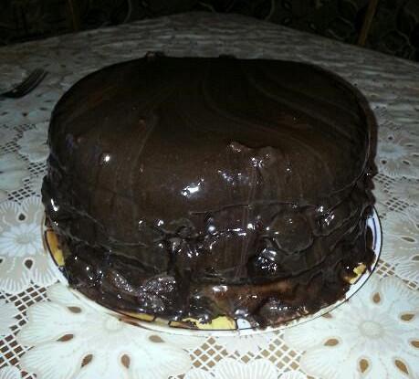 Торт «Прага» со сметанным кремом