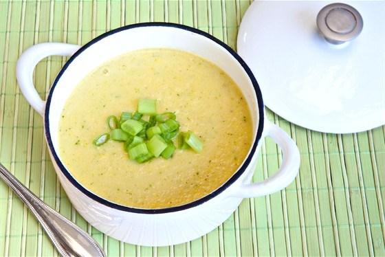 Картофельный суп протертый