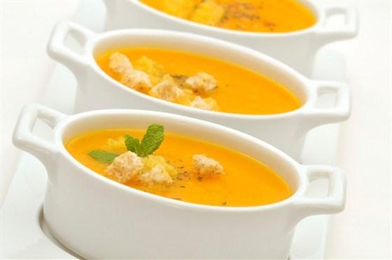Суп-пюре картофельно-морковный на рисовом отваре