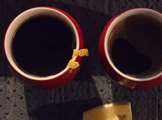 Кофе с имбирем и чили