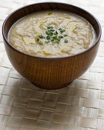 Сырный суп с сельдереем