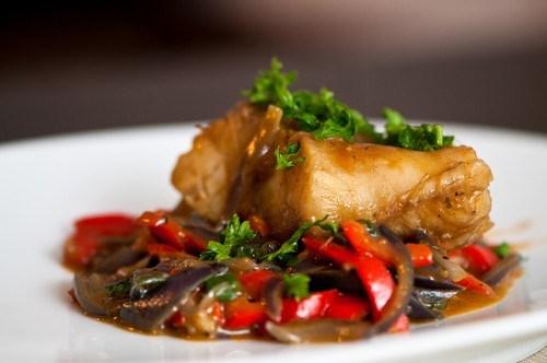 Рыба в сладком мисо-маринаде