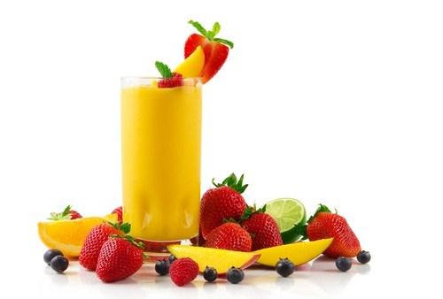 Апельсиново-манговый смузи