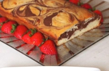 Воздушный мраморный пирог