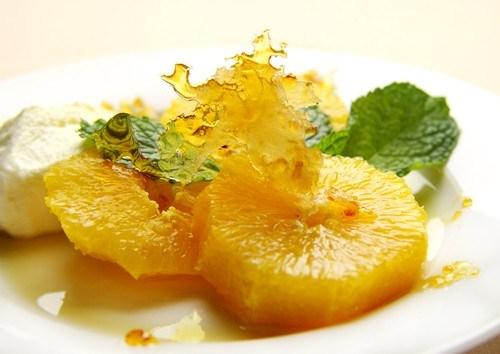 Апельсины в лимонном сиропе