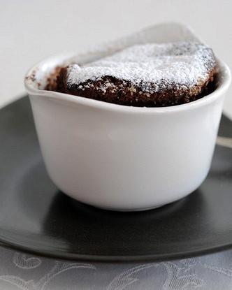 Крем-какао с печеньем и орехами по-португальски