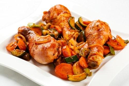Курица в соусе эстрагон