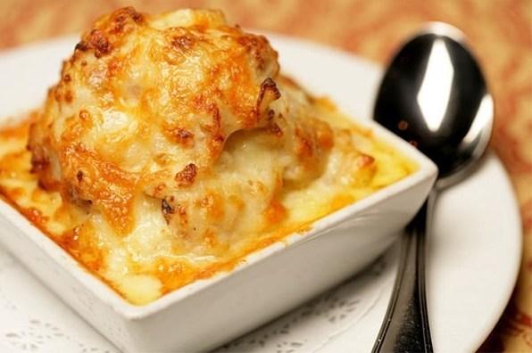 Нежный запеченный картофель с сыром