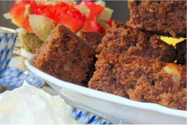 Морковно-ореховая основа для тортов и кексов