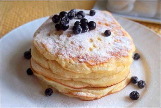 Оладьи на йогурте к завтраку