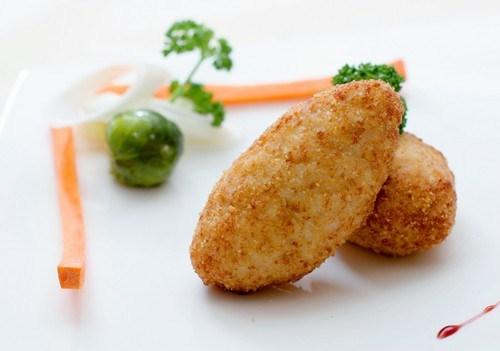 Куриные котлеты с начинкой из печени