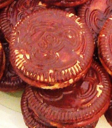 Печенье с маршмеллоу в шоколаде (Wagon wheels)