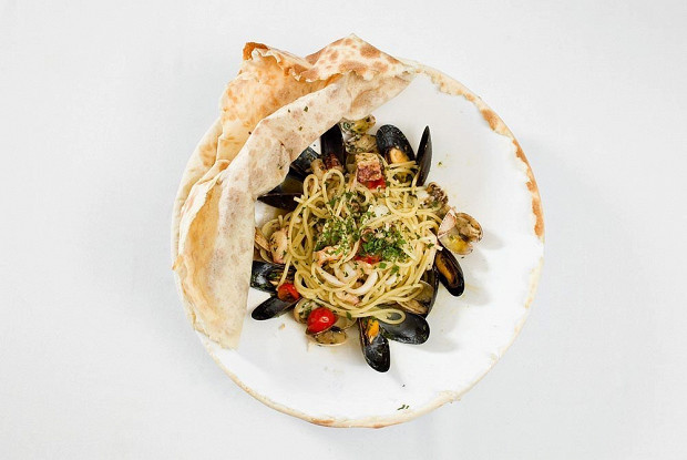 Спагетти алло скольо