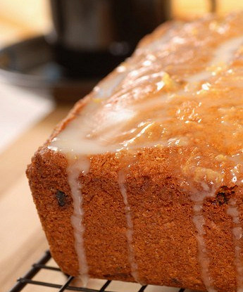 Имбирный пирог в апельсиновой глазури