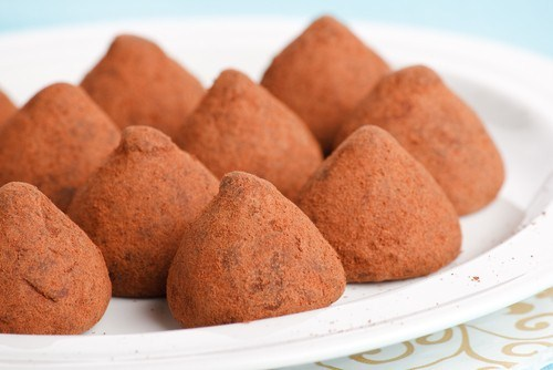 Быстрые шоколадно-сливочные трюфели