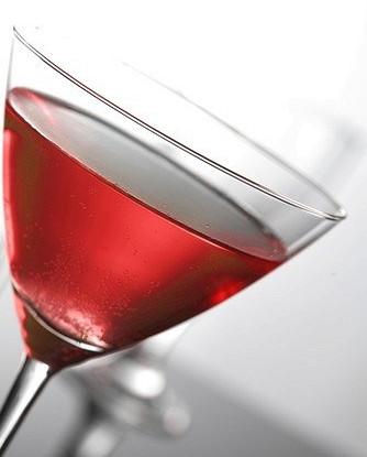 Французское розовое мартини
