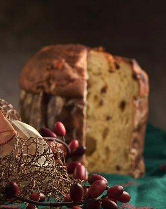 Итальянский рождественский пирог с кедровыми орешками