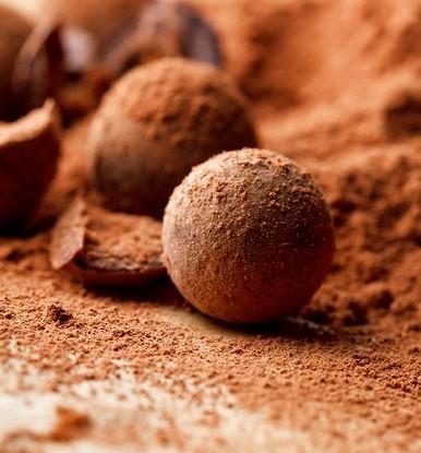 Шоколадный трюфель с сахаром мусковадо