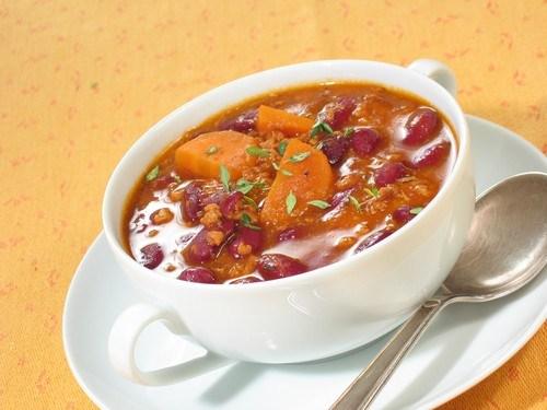 Вегетарианский зимний суп