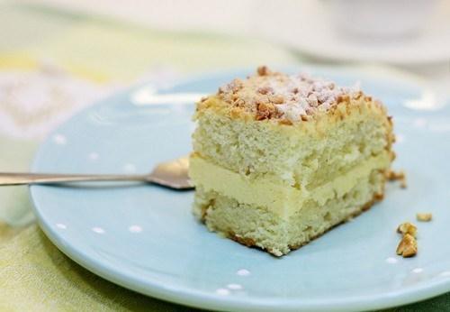Торт «Подарочный» со сливочным кремом