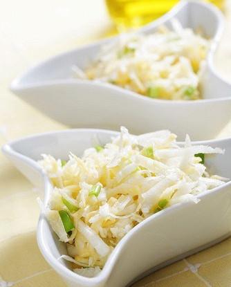 Салат из кольраби и репы
