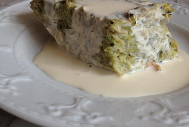 Вегетарианская запеканка из кабачков