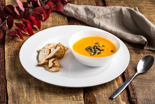 Пикантный тыквенный суп