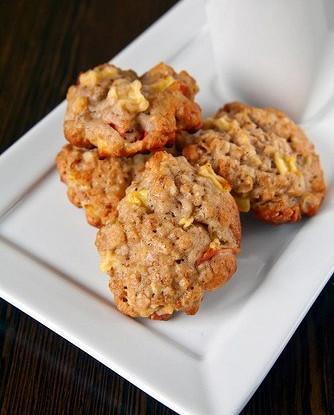 Песочное печенье с нектаринами