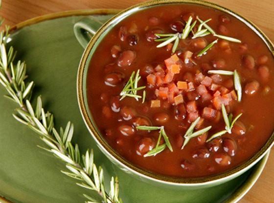 Карибский фасолевый суп