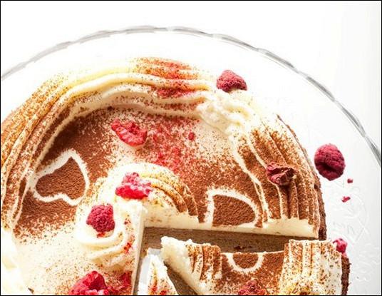 Имбирный торт с кремом из маскарпоне