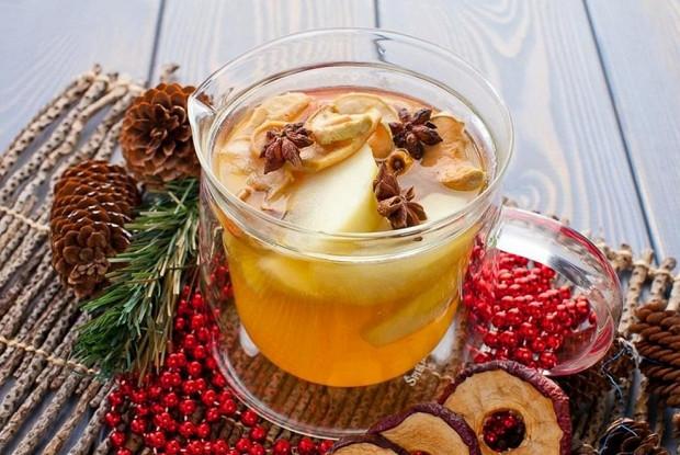 Рождественский фруктовый компот