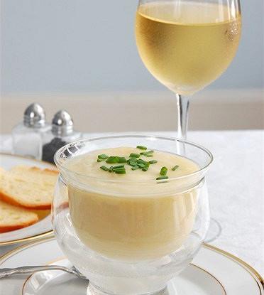 Суп вишисуаз со сливками