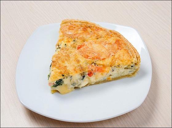 Пирог из овощей и пармезана