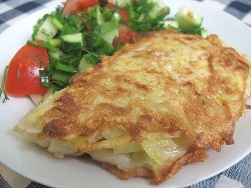 Рыба в картофельной корочке